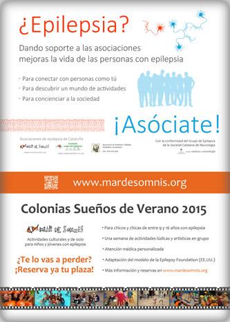 """Diseños de posters """"Asóciate"""" y """"Colonias"""""""